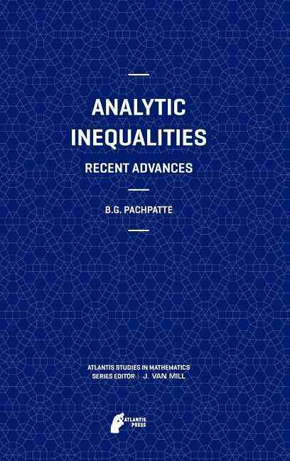 Analytic Inequalities By Pachpatte, B. G.